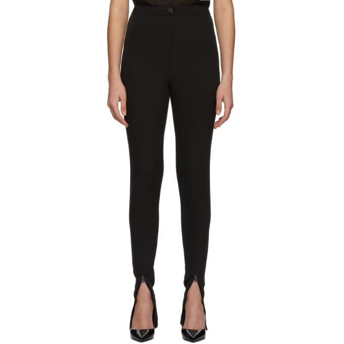 Low Classic Pantalon a glissieres noir