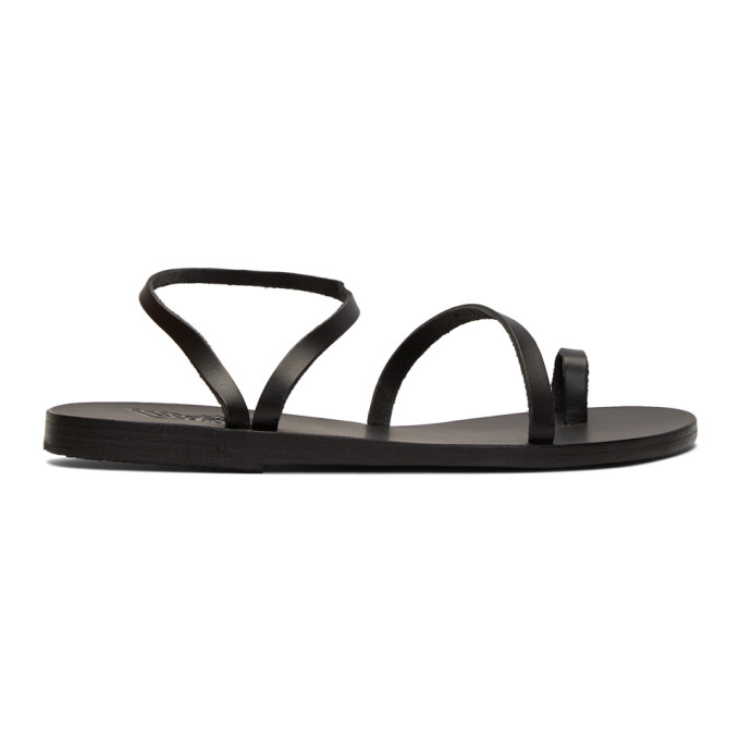 Buy Ancient Greek Sandals Black Apli Eleftheria Sandals online