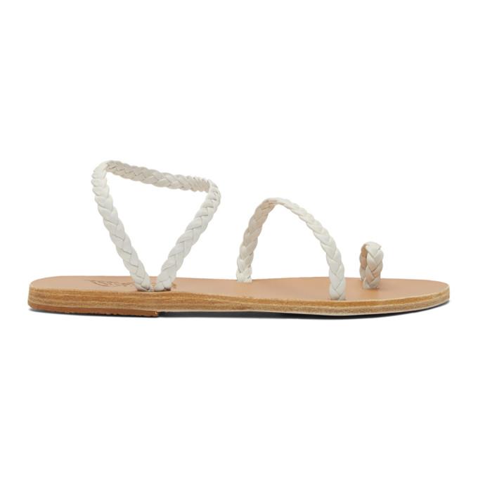 Buy Ancient Greek Sandals White Eleftheria Sandals online