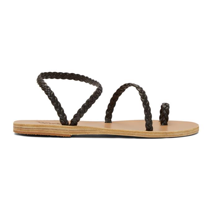 Buy Ancient Greek Sandals Brown Eleftheria Sandals online