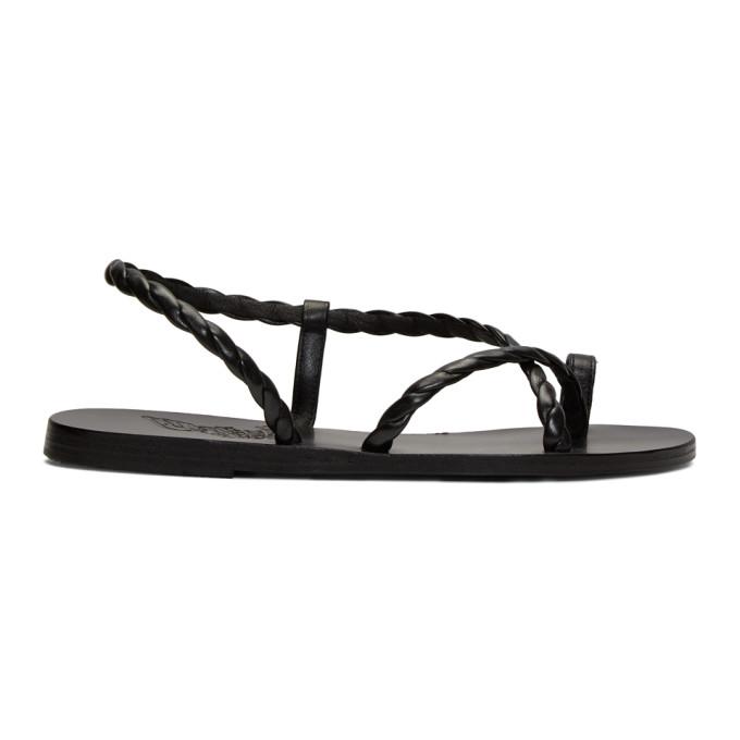 Buy Ancient Greek Sandals Black Fysi Sandals online