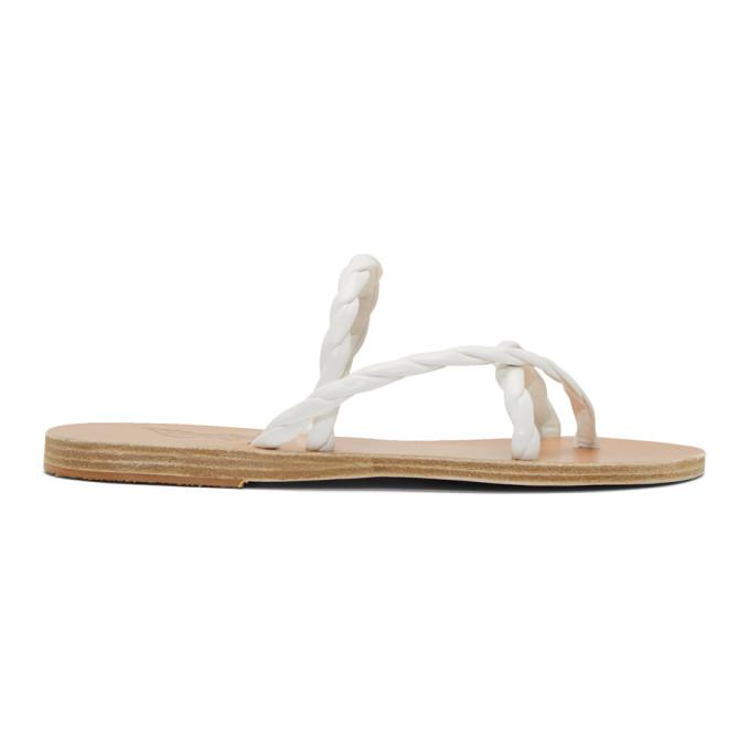 Buy Ancient Greek Sandals White Mahi Sandals online