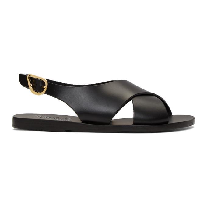 Buy Ancient Greek Sandals Black Maria Sandals online