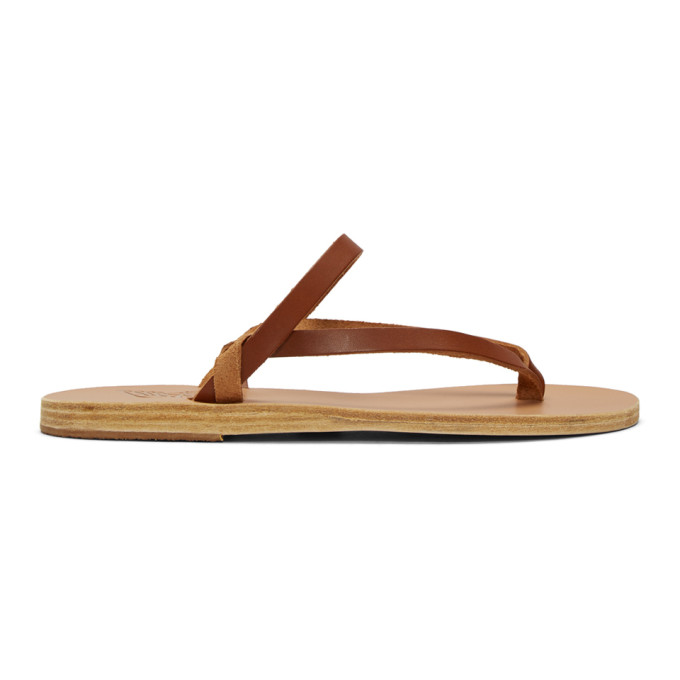 Buy Ancient Greek Sandals Brown Mirisini Sandals online