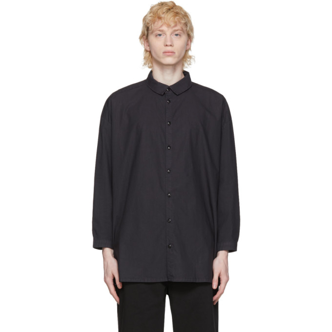 Toogood Chemise noire The Draughtsman