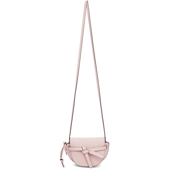 Loewe Pink Mini Gate Bag