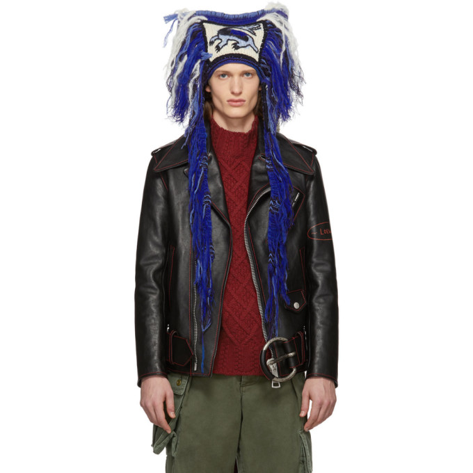 Loewe Bonnet bleu Dragon edition William De Morgan