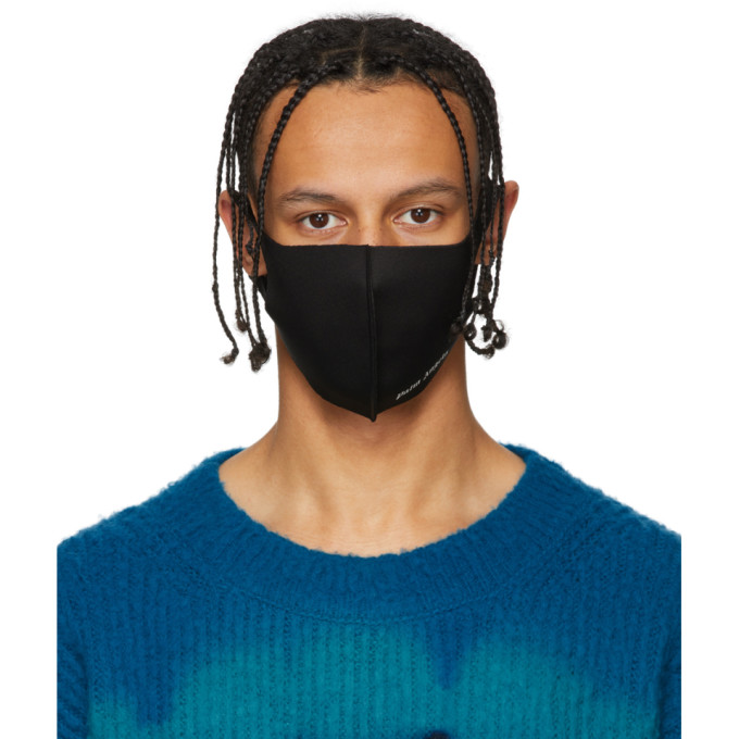 Palm Angels Masque noir Anti-Pollution