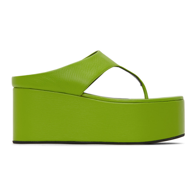 Buy Simon Miller Green Coaster Thong Sandals online