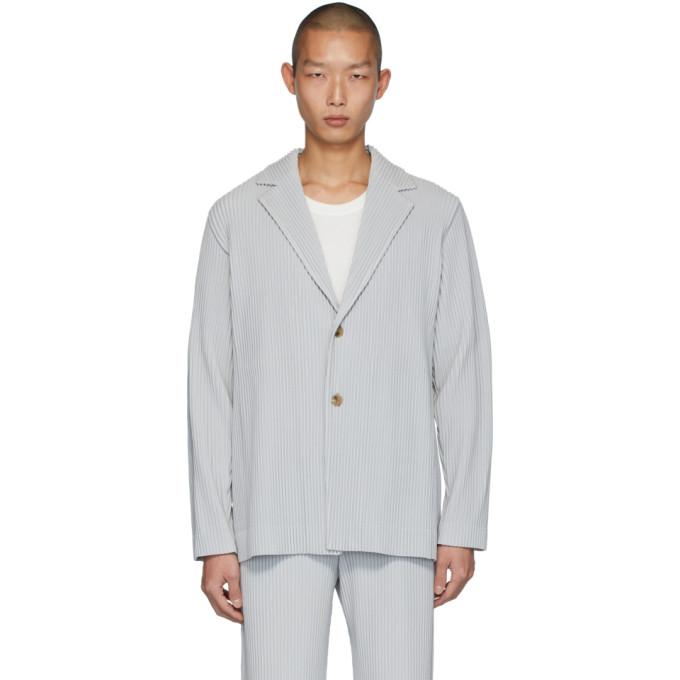 Homme Plisse Issey Miyake Blazer gris Basics