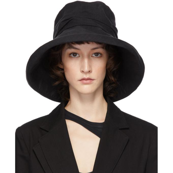 Y's YS BLACK CLOCHE HAT