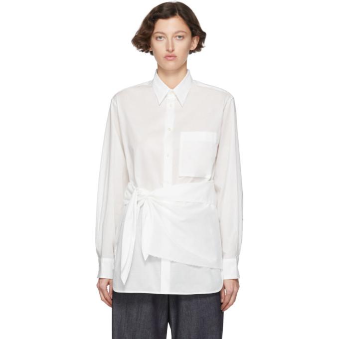Ys Chemise blanche K-Wrap Cloth
