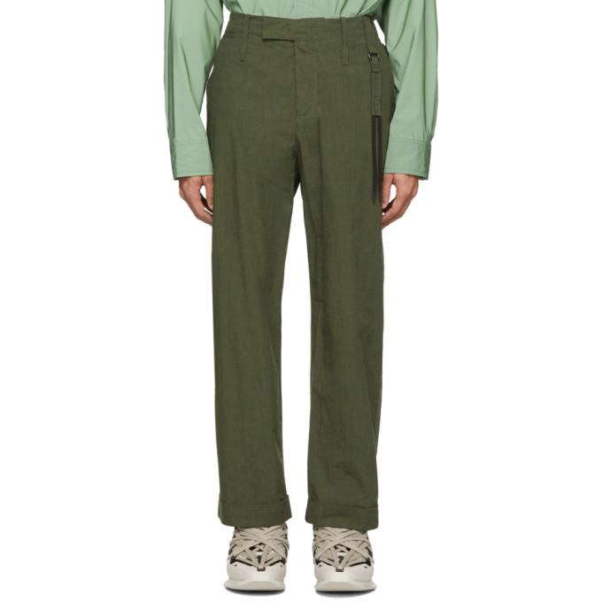 Craig Green Pantalon vert Uniform
