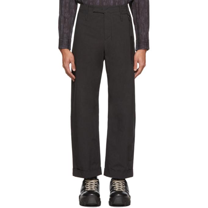 Craig Green Pantalon noir Uniform