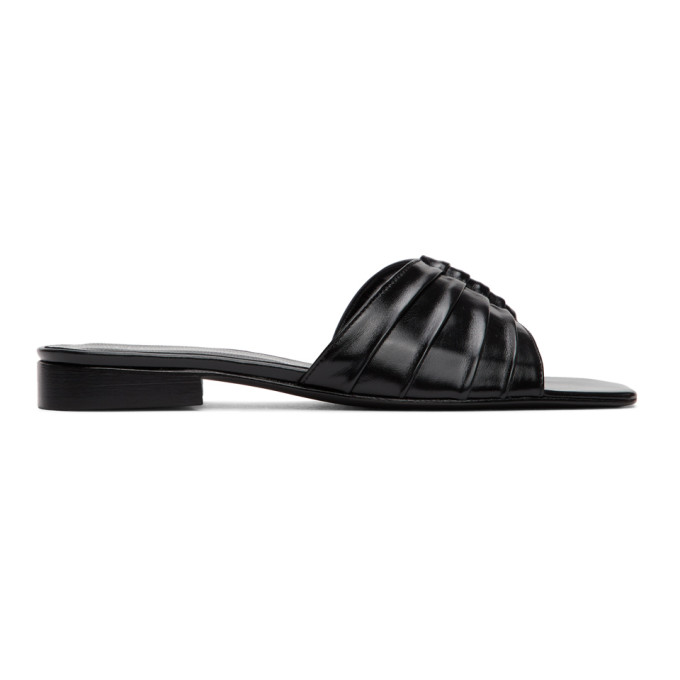 Dorateymur Sandales noires 102 Slipper