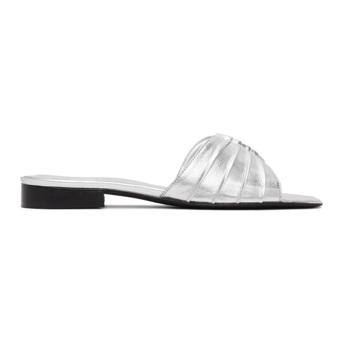 Buy Dorateymur Silver 102 Slipper Sandals online
