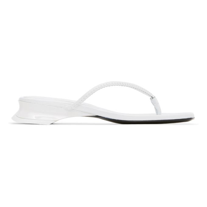 Buy Dorateymur White Thong Sandals online