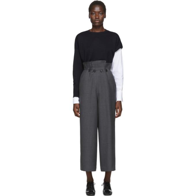 Enfold Pantalon gris Layered