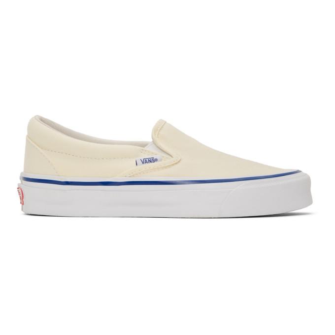 Shop Vans Off-White Og Classic Slip-On