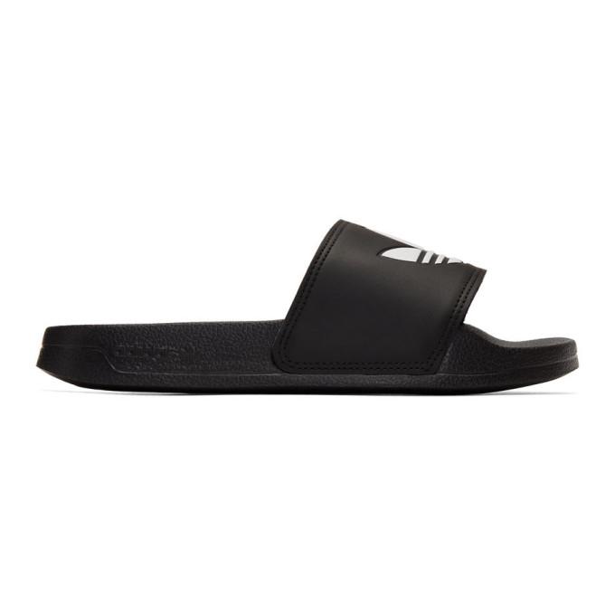 Buy adidas Originals Black Adilette Lite Sandals online