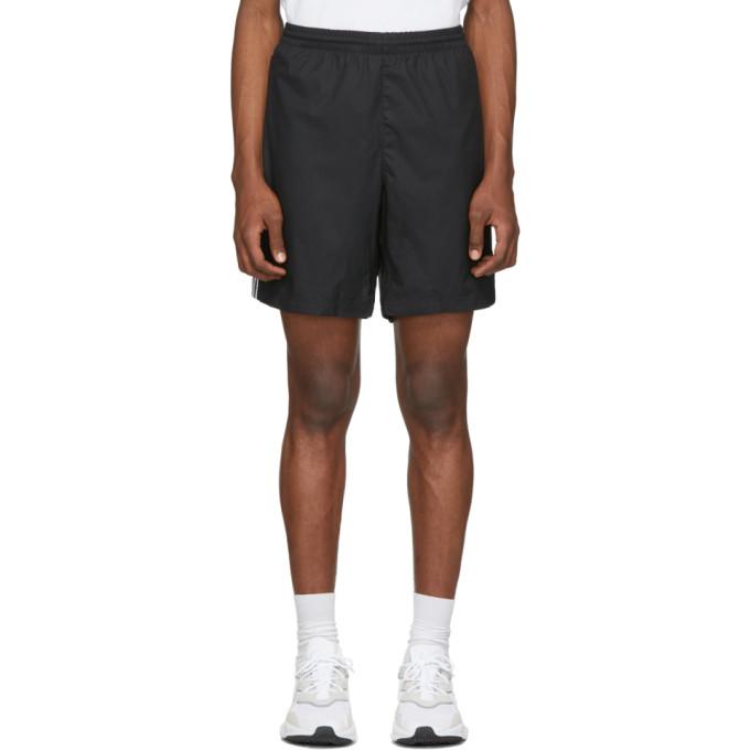 adidas Originals Black 3-Stripes Ripstop Shorts