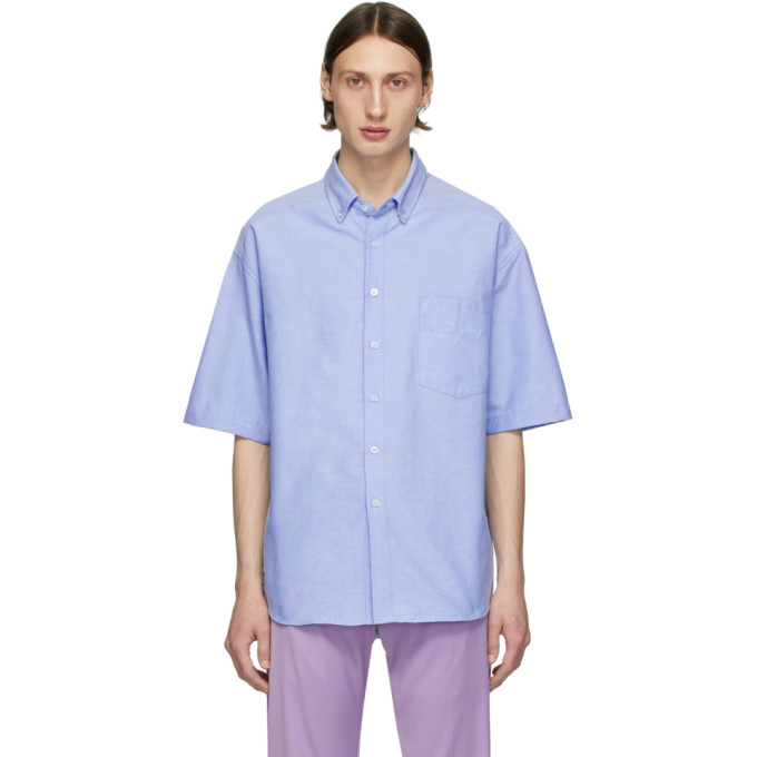 Noon Goons Chemise bleue The Simple Oxford