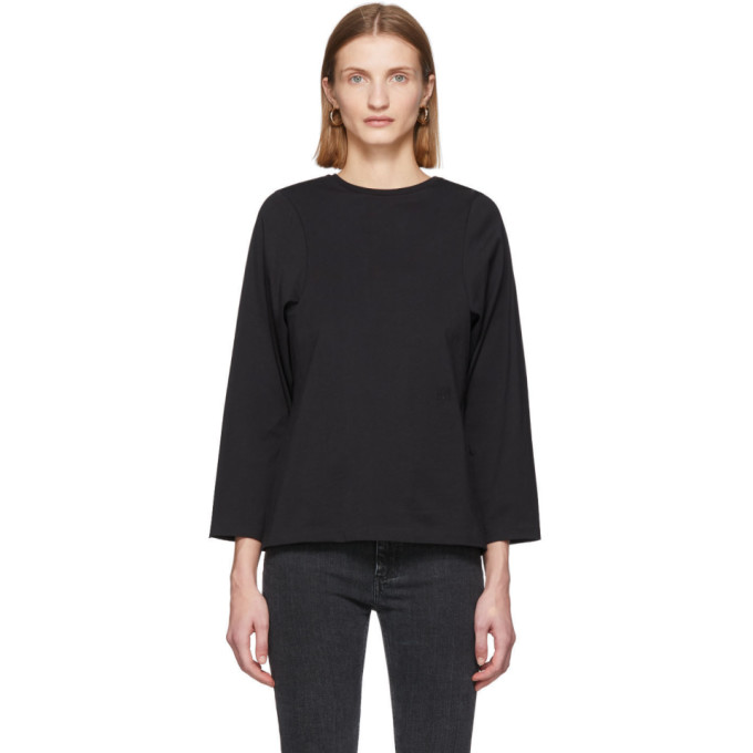 Toteme T-shirt a manches longues noir Espera