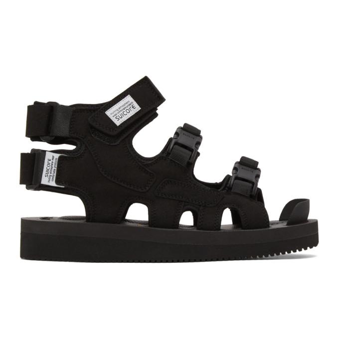 Suicoke Sandales montantes noires Boak-V