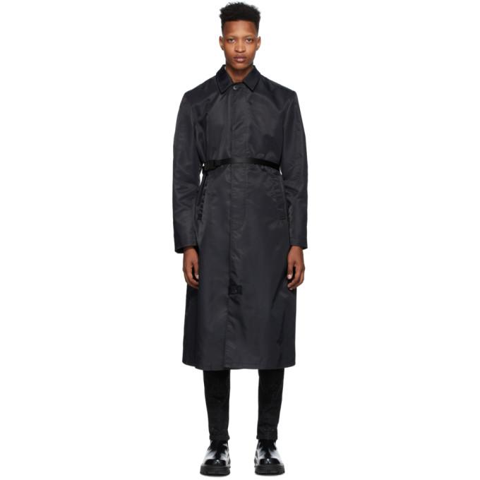 1017 ALYX 9SM 黑色束带风衣
