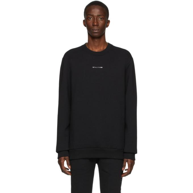 1017 ALYX 9SM Black Logo Sweatshirt 201776M20403201