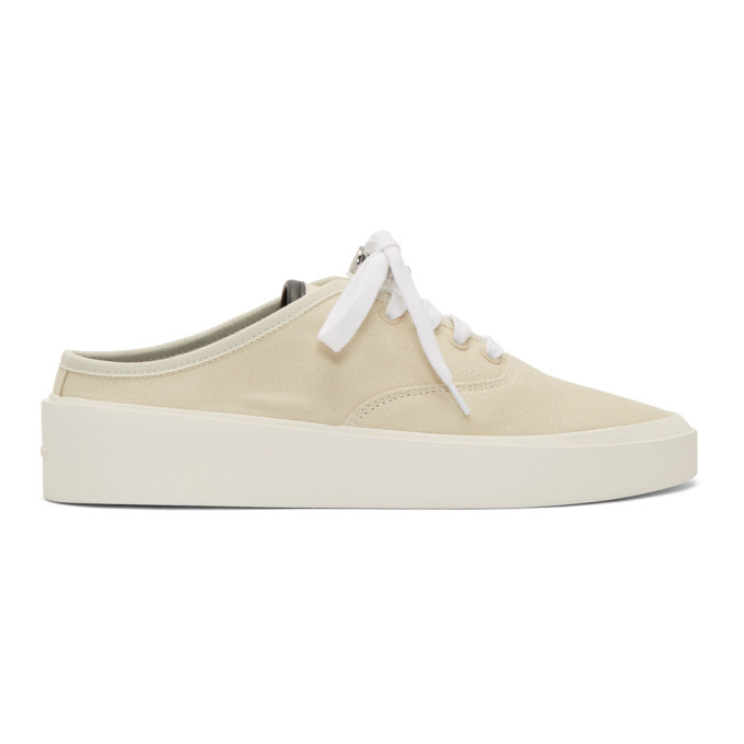 Fear of God Baskets blanc casse 101 Backless