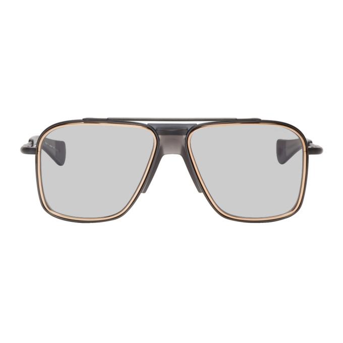 Dita Rose Gold and Gunmetal Initiator Sunglasses