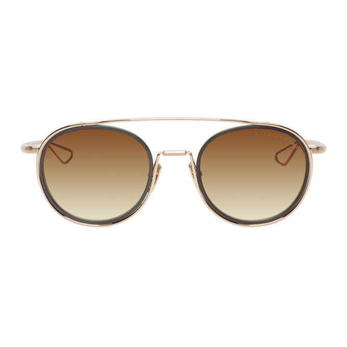 Dita Gold and Black System-Two Sunglasses