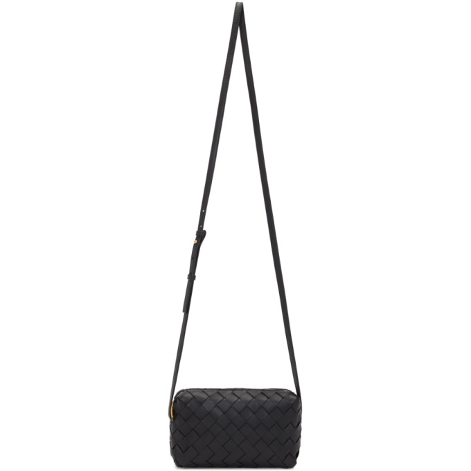 Bottega Veneta Black Intrecciato Mini Bag  - buy with discount