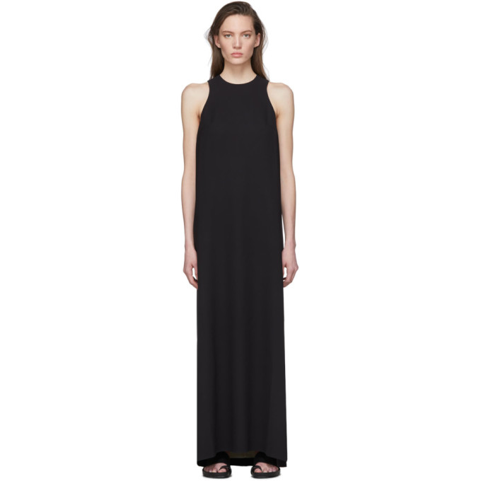Julia Jentzsch Black Silk Xyla Dress In Black Vanil