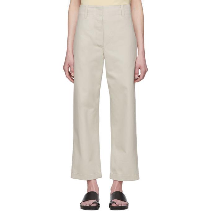 Julia Jentzsch Off-white Tom Pants In Light Taupe