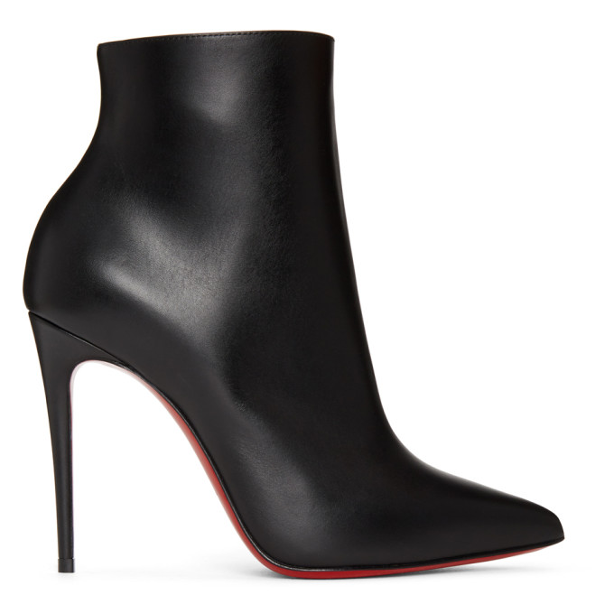 Buy Christian Louboutin Black So Kate 100 Boots online