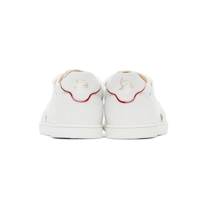 CHRISTIAN LOUBOUTIN Sneakers CHRISTIAN LOUBOUTIN WHITE ELASTIKID DONNA SNEAKERS