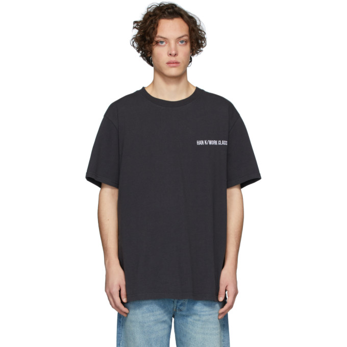 Han Kjobenhavn T-shirt noir Boxy
