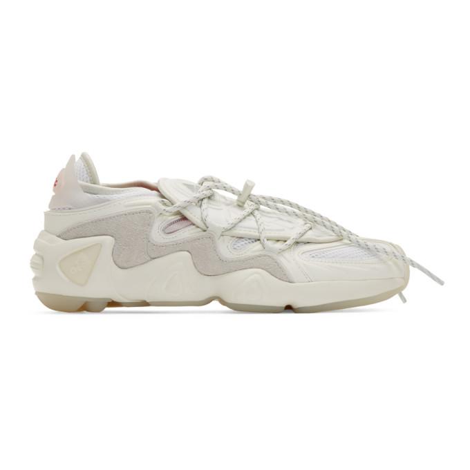 032c White adidas Originals Edition Salvation Sneakers