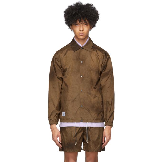 Nanushka Nanushka Brown Tie-Dye Terry Jacket