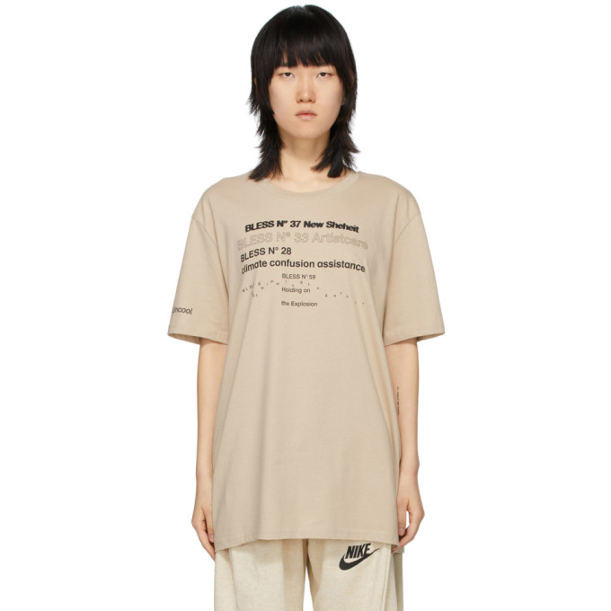 Bless T-shirt beige Collection