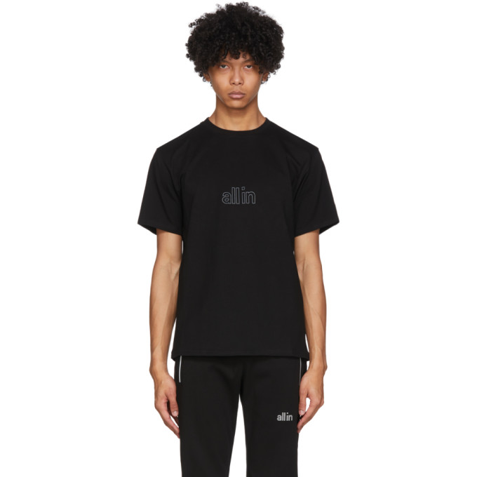 all in T-shirt noir Wave