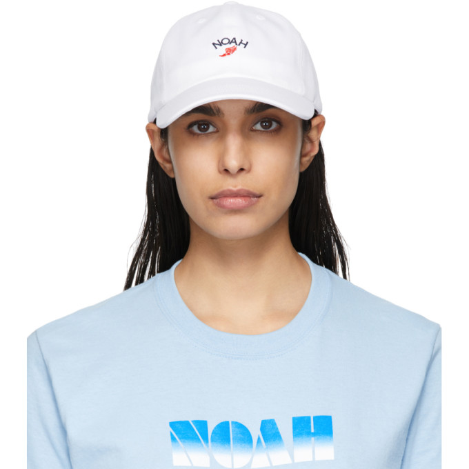 Noah NYC Casquette blanche Winged Foot