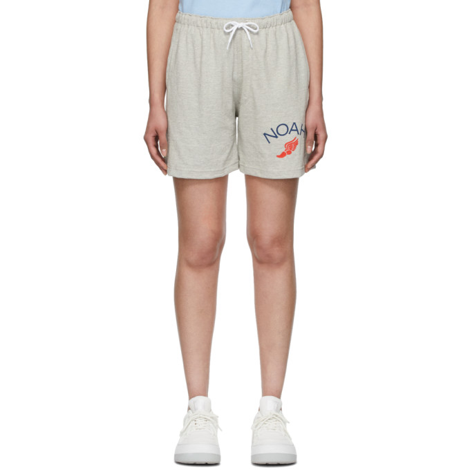 Noah NYC Short gris Rugby Cloth