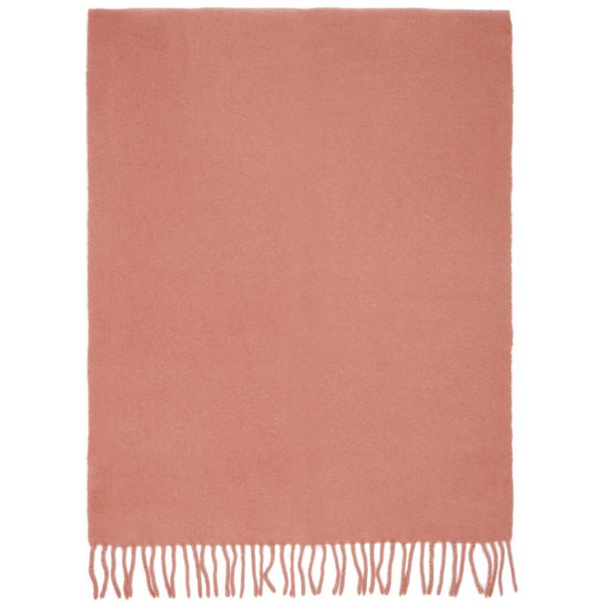 Sies Marjan Foulard rose et bourgogne Pastoral edition AMO