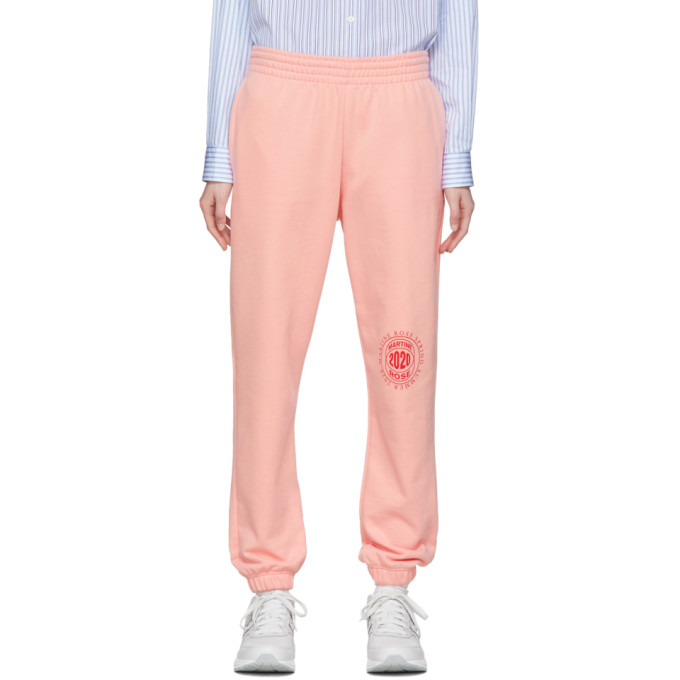 Martine Rose Pantalon ajuste rose