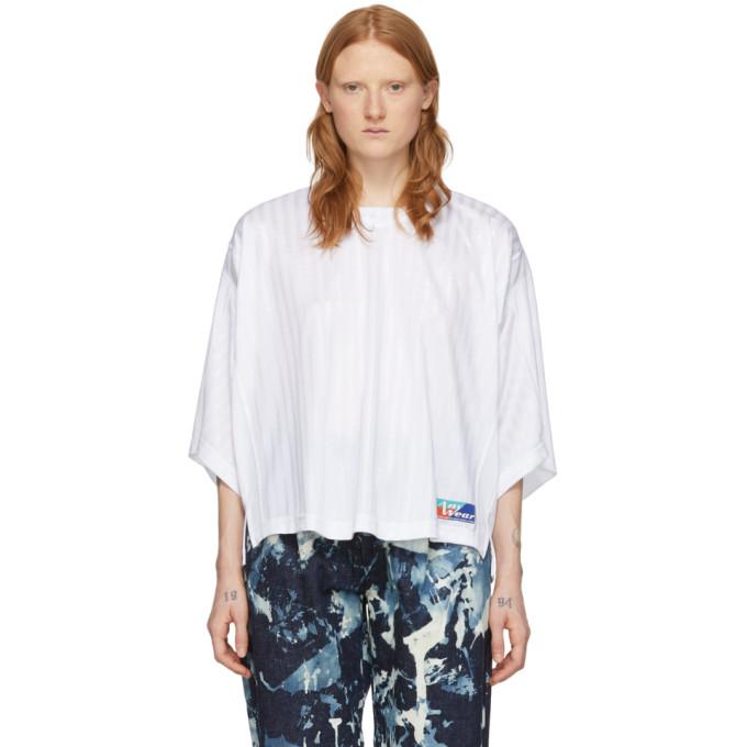 Martine Rose T-shirt blanc Football