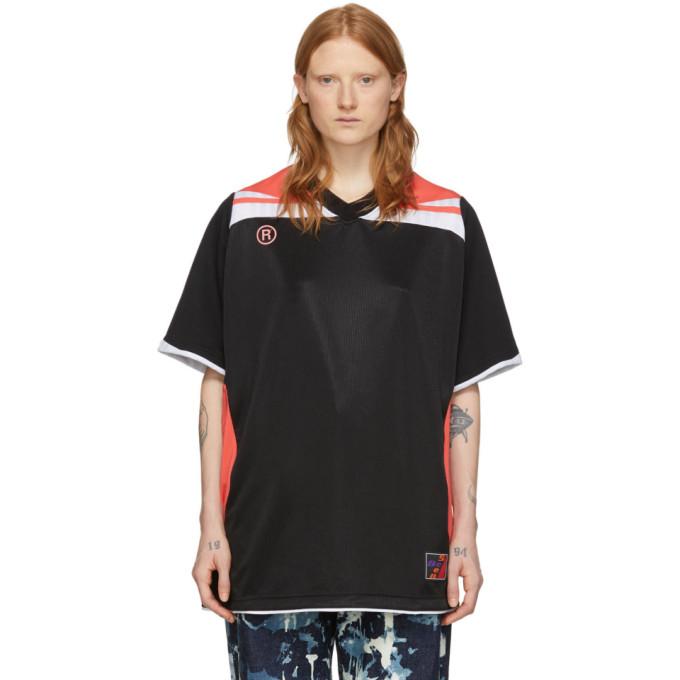 Martine Rose T-shirt noir Two-Way Football