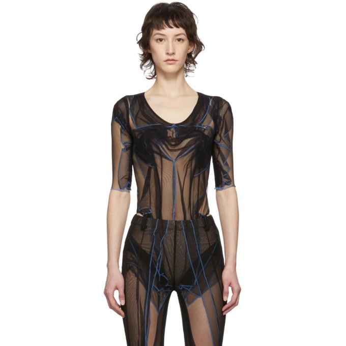 Y/Project Body en tulle noir